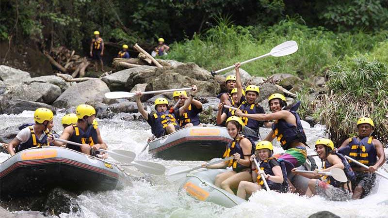 Fasilitas Rafting Ubud