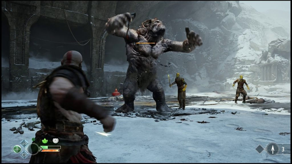 God of War Review - Gameplay